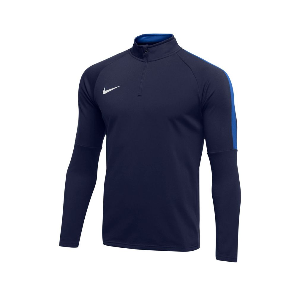 Nike W Nk Dry Acdmy18 Dril Top Ls - obsidian/royal blue/white