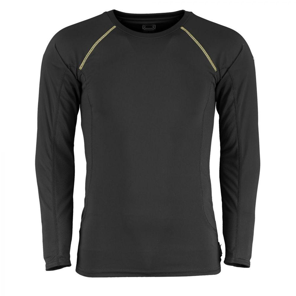Stanno Sport Unterwaesche T-Shirt Langarm - schwarz – Bild 2