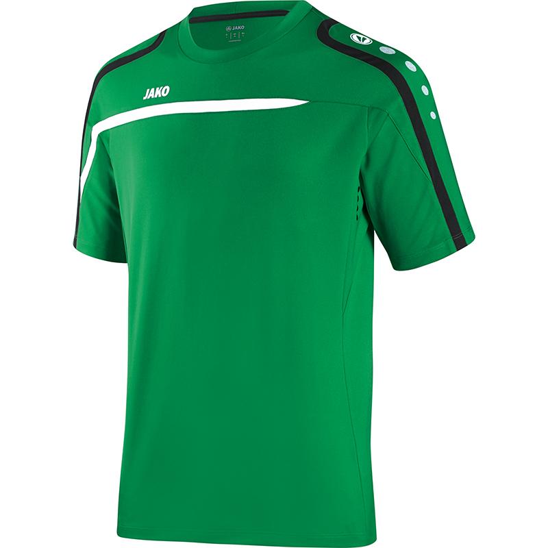 Jako T- Shirt Performance - sportgrün/weiß/schwarz