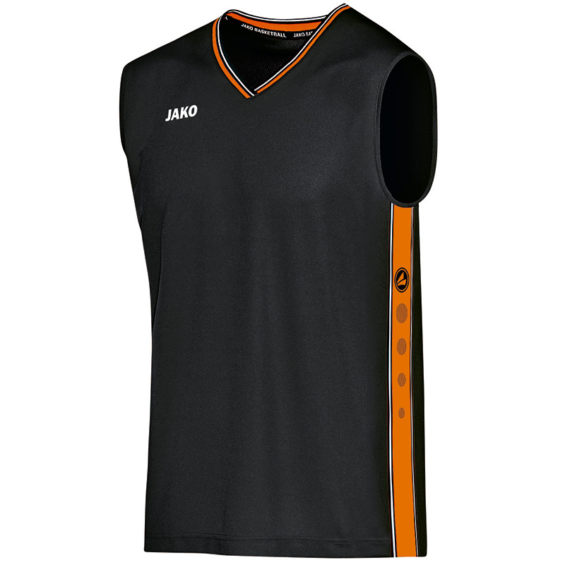 Jako Trikot Center - schwarz/neon orange