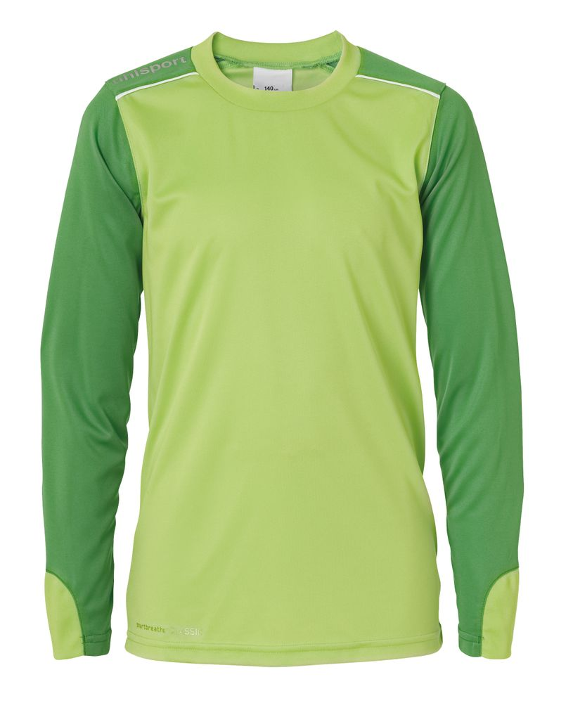 Uhlsport Tower Junior Torwart Set - power grün/weiß - sonstige Teambekleidung-Kinder
