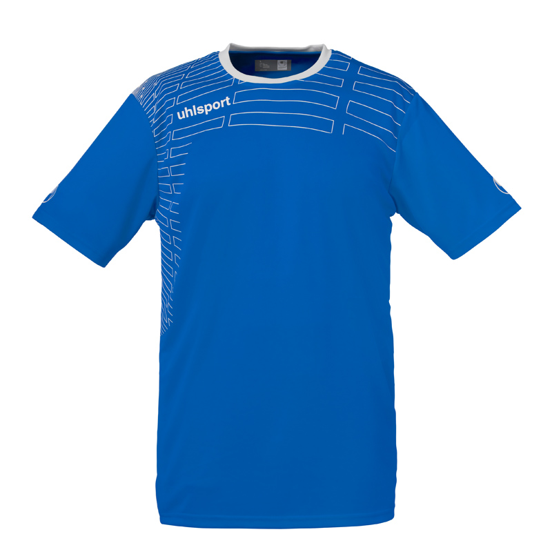 Uhlsport Match Team Kit (Shirt&Shorts) Ss Damen - azurblau/weiß - Trikots-Teamtrikots-Damen