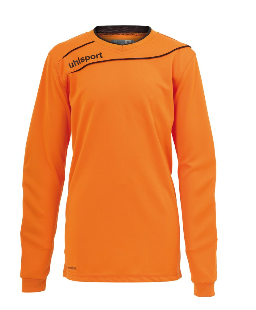 Uhlsport Stream 3.0 Junior Torwart Set - orange/schwarz - Torwarttrikots-Kinder
