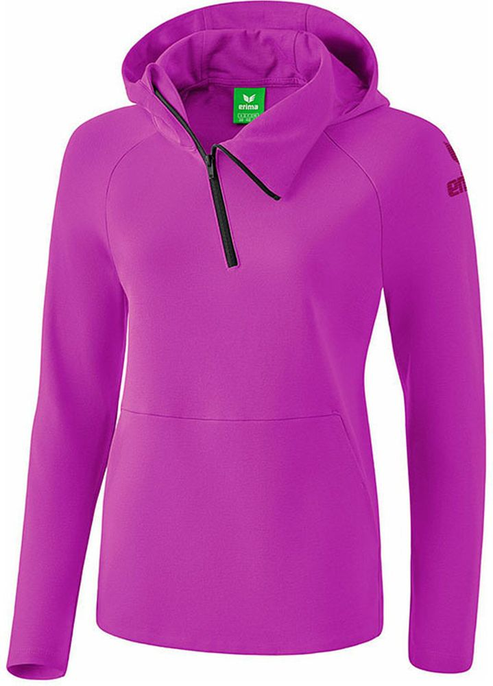 Erima Essential Hoody - fuchsia/purple potion - Kapuzensweats-Kinder