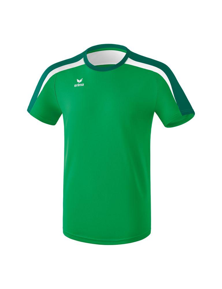 Erima Liga Line 2.0 T-Shirt Function - smaragd/evergreen/white - T-Shirts-Tanks-Herren