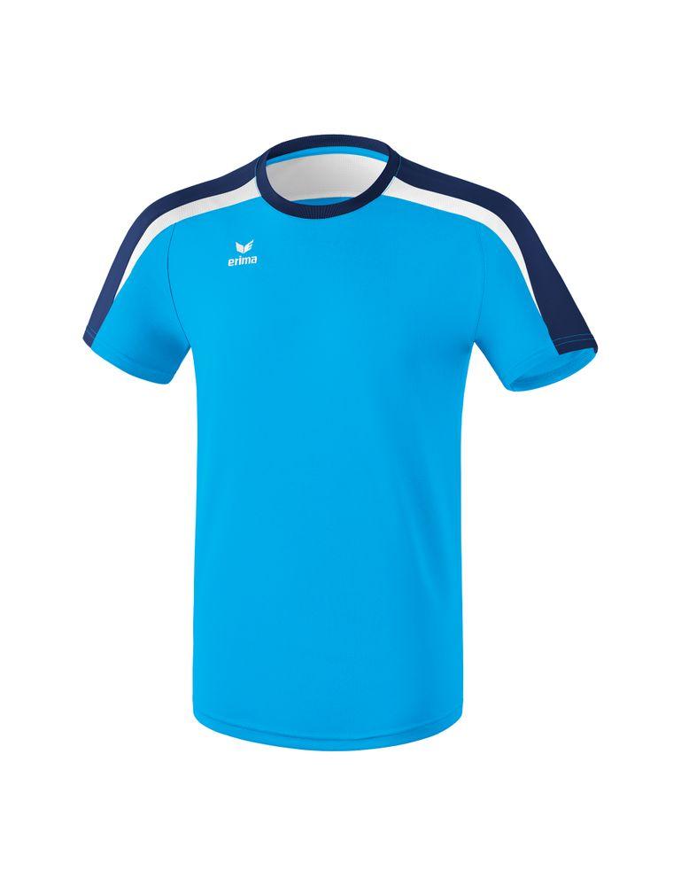 Erima Liga Line 2.0 T-Shirt Function - curacao/new navy/white - T-Shirts-Tanks-Herren