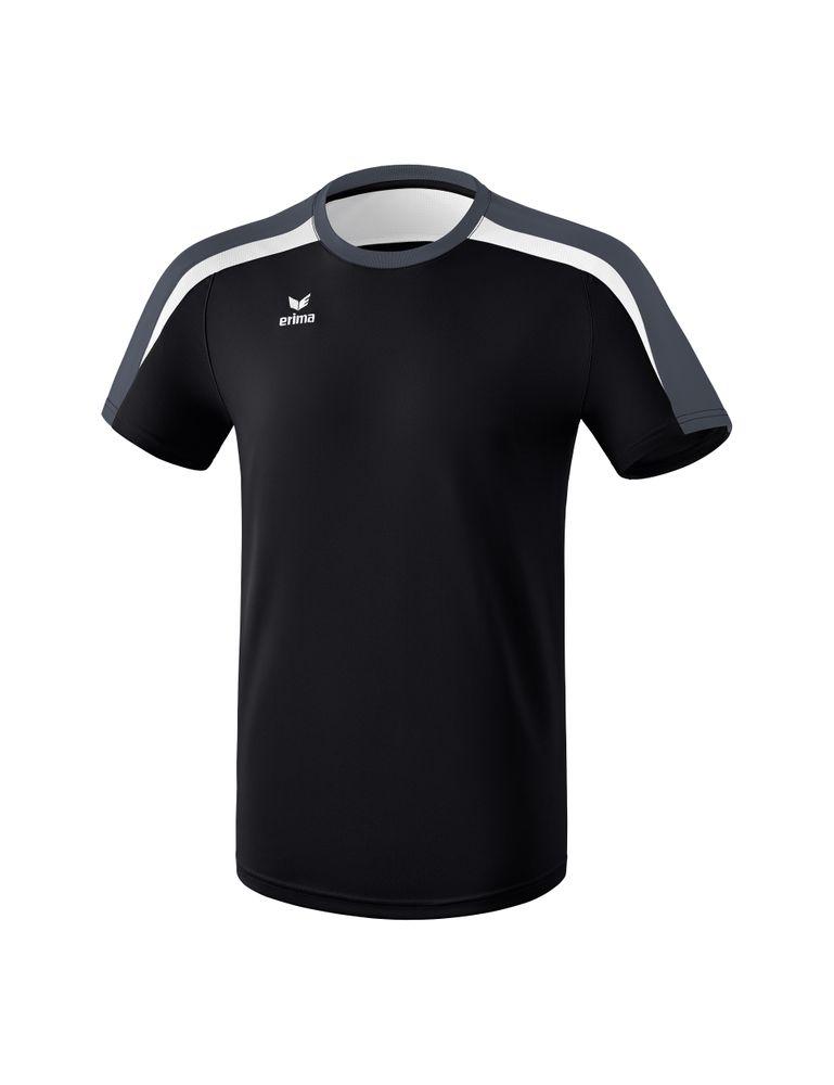 Erima Liga Line 2.0 T-Shirt Function - black/white/dark grey - T-Shirts-Tanks-Kinder
