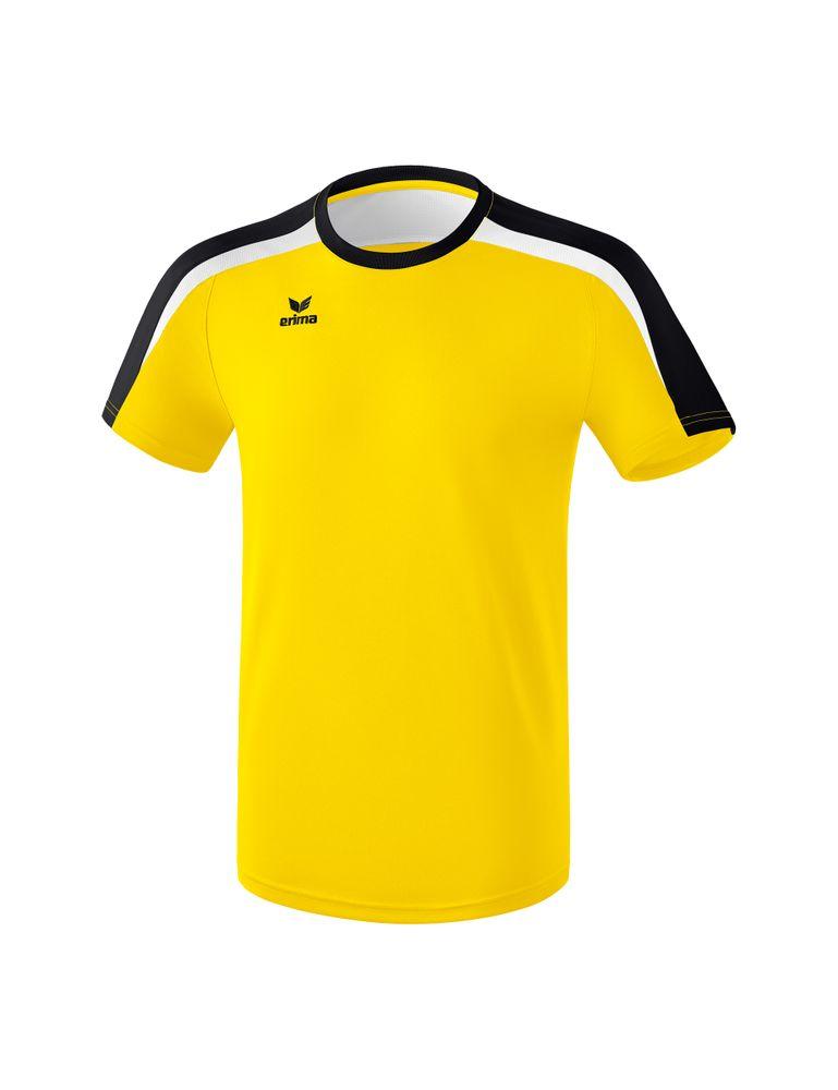 Erima Liga Line 2.0 T-Shirt Function - yellow/black/white - T-Shirts-Tanks-Kinder