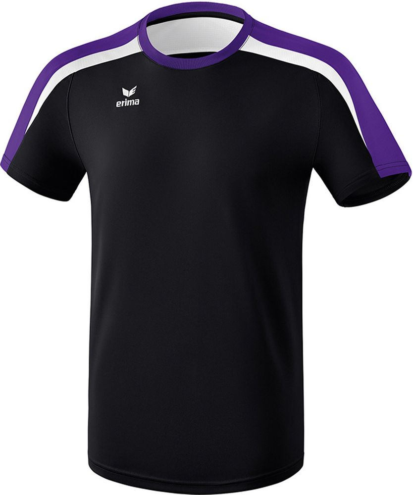 Erima Liga Line 2.0 T-Shirt Function - black/dark violet/white - T-Shirts-Tanks-Kinder