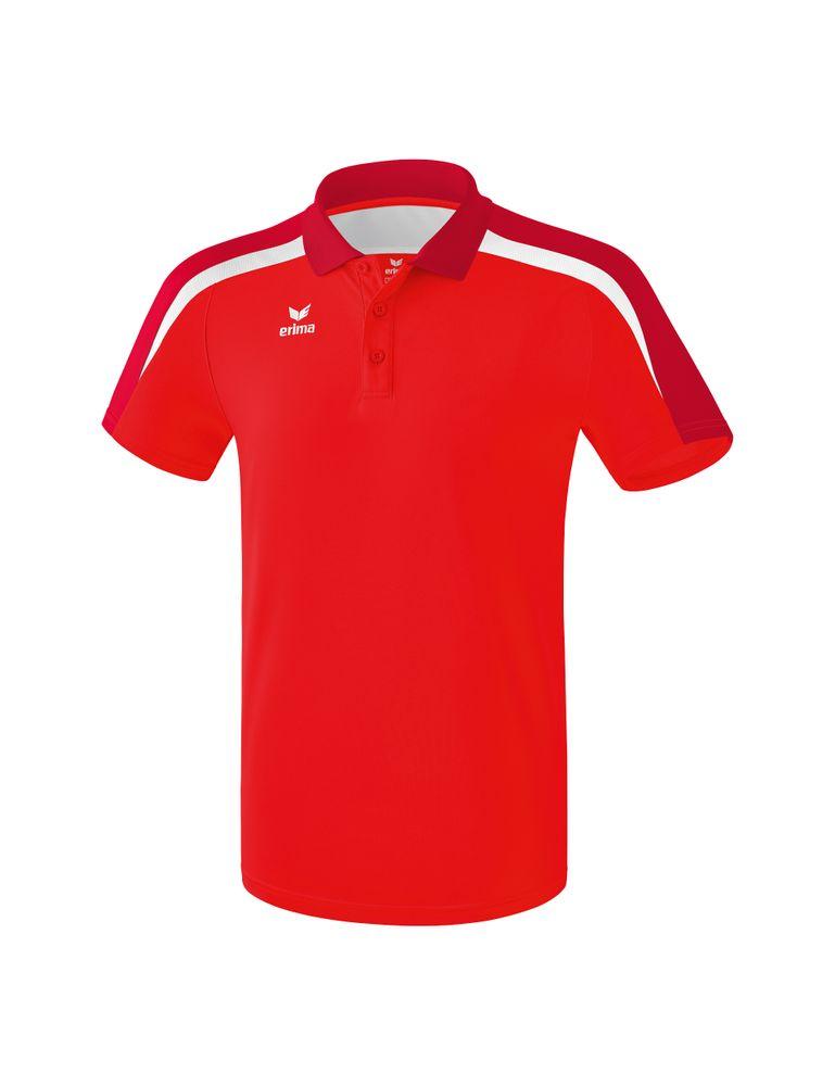 Erima Liga Line 2.0 Poloshirt Function - red/tango red/white - Polos-Herren