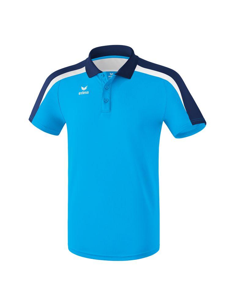 Erima Liga Line 2.0 Poloshirt Function - curacao/new navy/white - Polos-Herren
