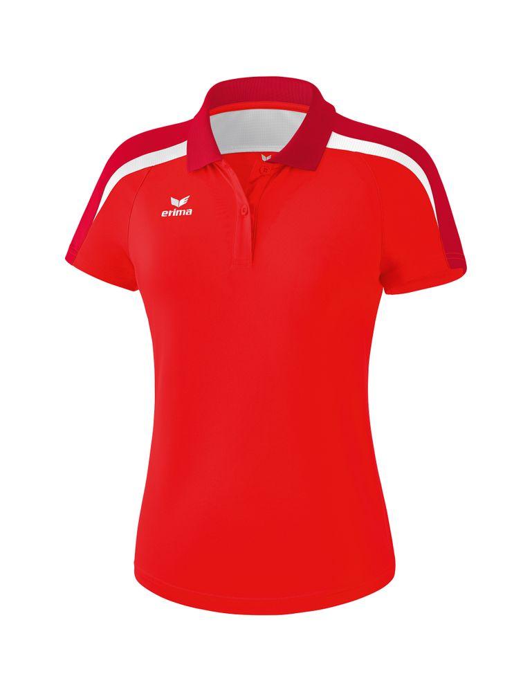 Erima Liga Line 2.0 Poloshirt Function - red/tango red/white - Polos-Damen