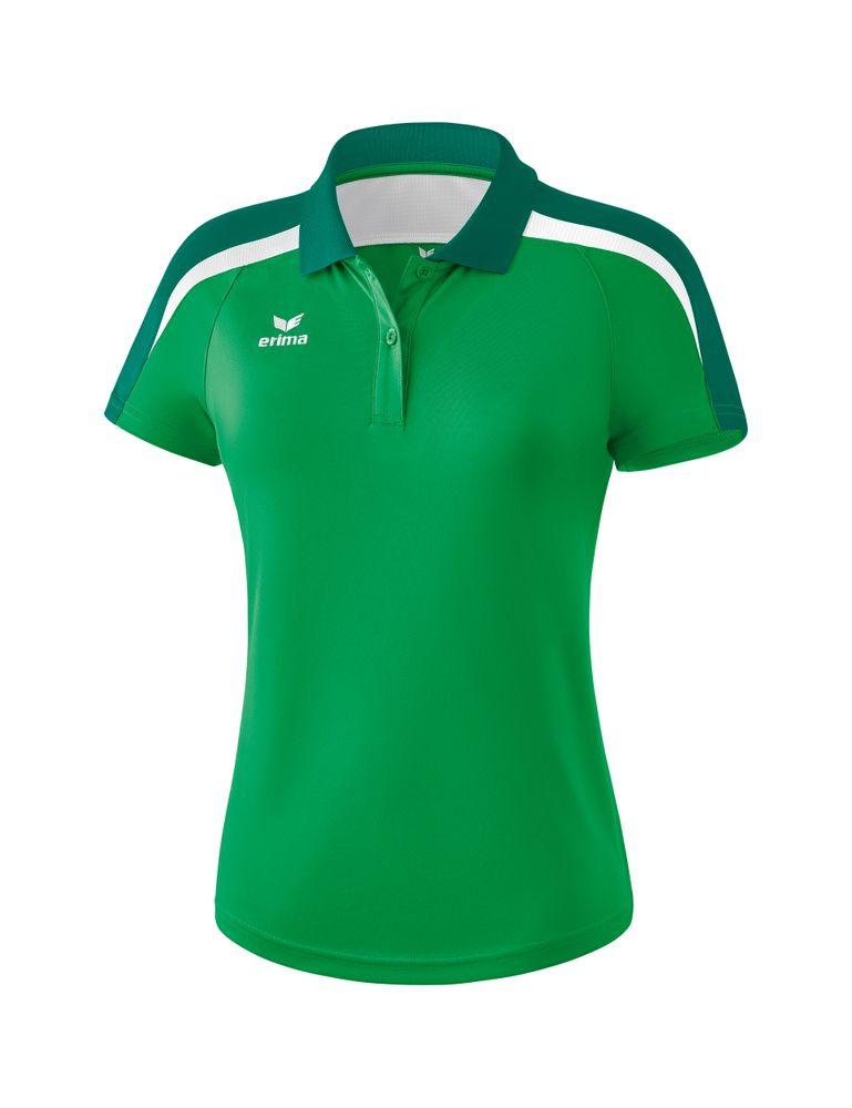 Erima Liga Line 2.0 Poloshirt Function - smaragd/evergreen/white - Polos-Damen
