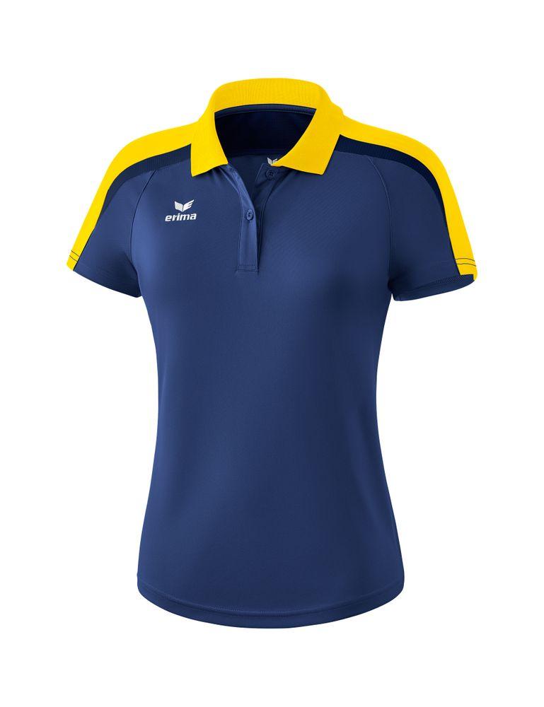Erima Liga Line 2.0 Poloshirt Function - new navy/yellow/dark navy - Polos-Damen