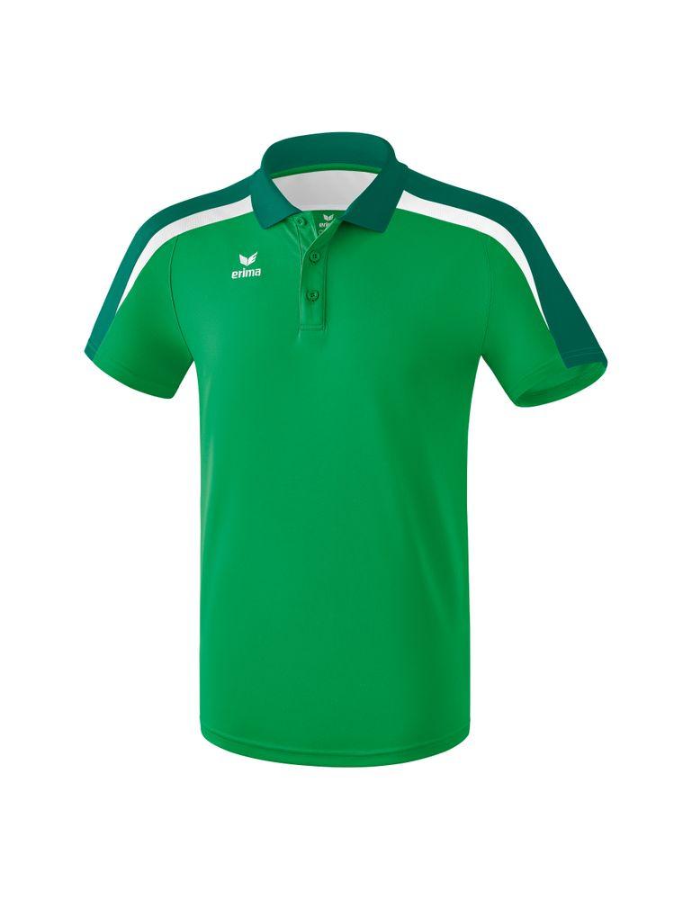 Erima Liga Line 2.0 Poloshirt Function - smaragd/evergreen/white - Polos-Kinder