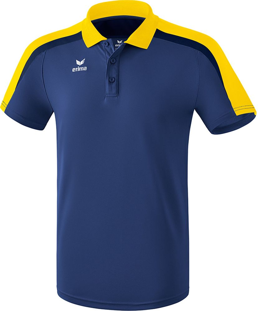 Erima Liga Line 2.0 Poloshirt Function - new navy/yellow/dark navy - Polos-Kinder