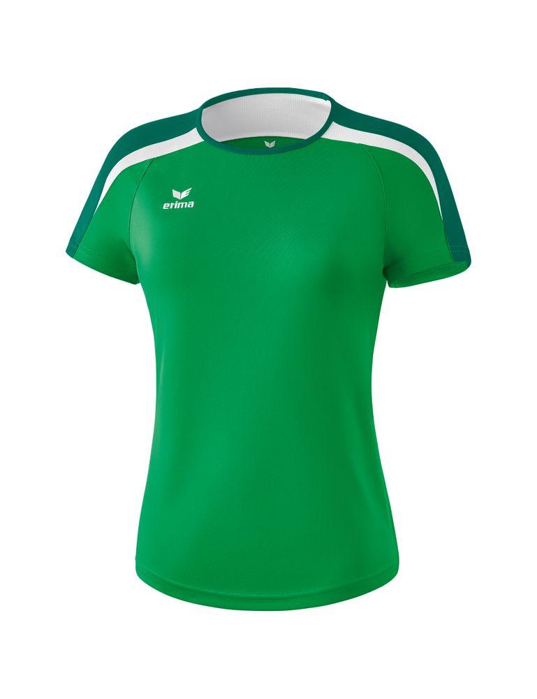 Erima Liga Line 2.0 T-Shirt Function - smaragd/evergreen/white - T-Shirts-Tanks-Damen