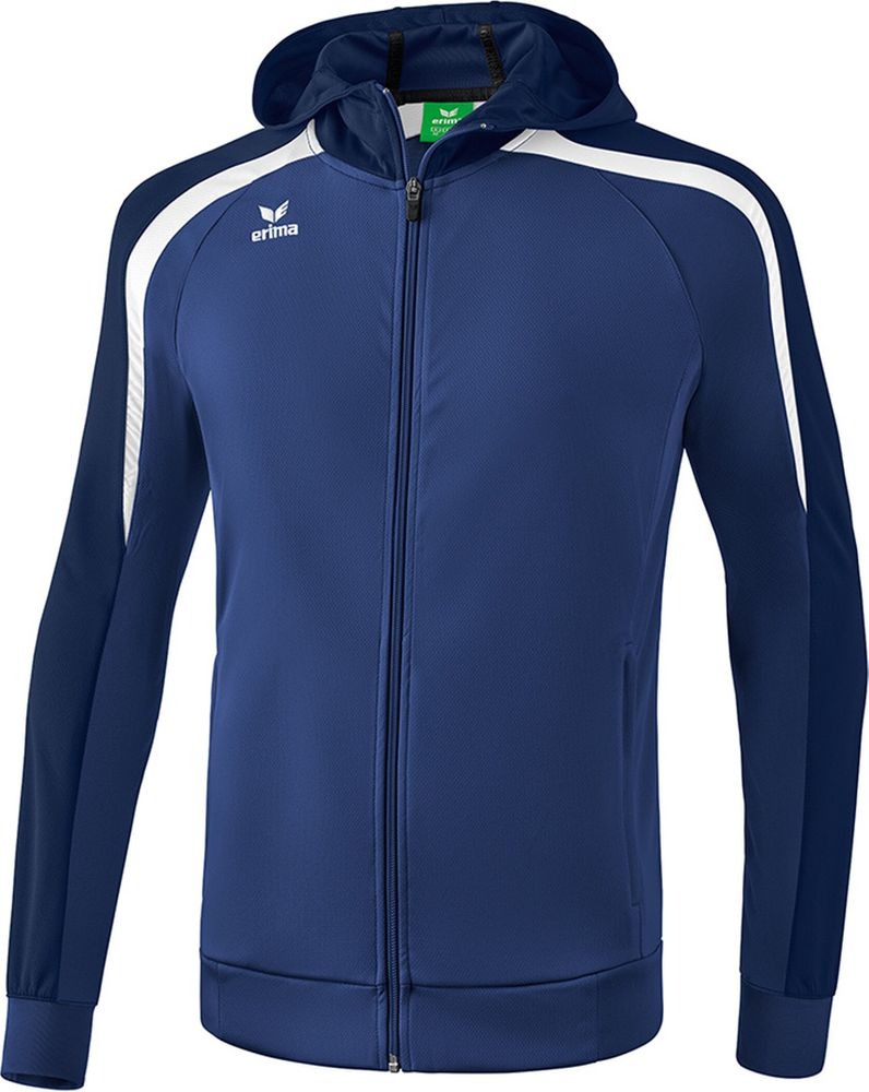 Erima Liga Line 2.0 Training Jacket With - new navy/dark navy/white - Kapuzensweats-Herren