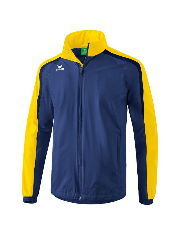 Erima Liga Line 2.0 All-Weather Jacket - new navy/yellow/dark navy - Regenjacken-Herren