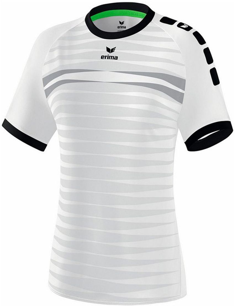 Erima Ferrara 2.0 Jersey Shortsleeve - white/black - Trikots-Teamtrikots-Damen