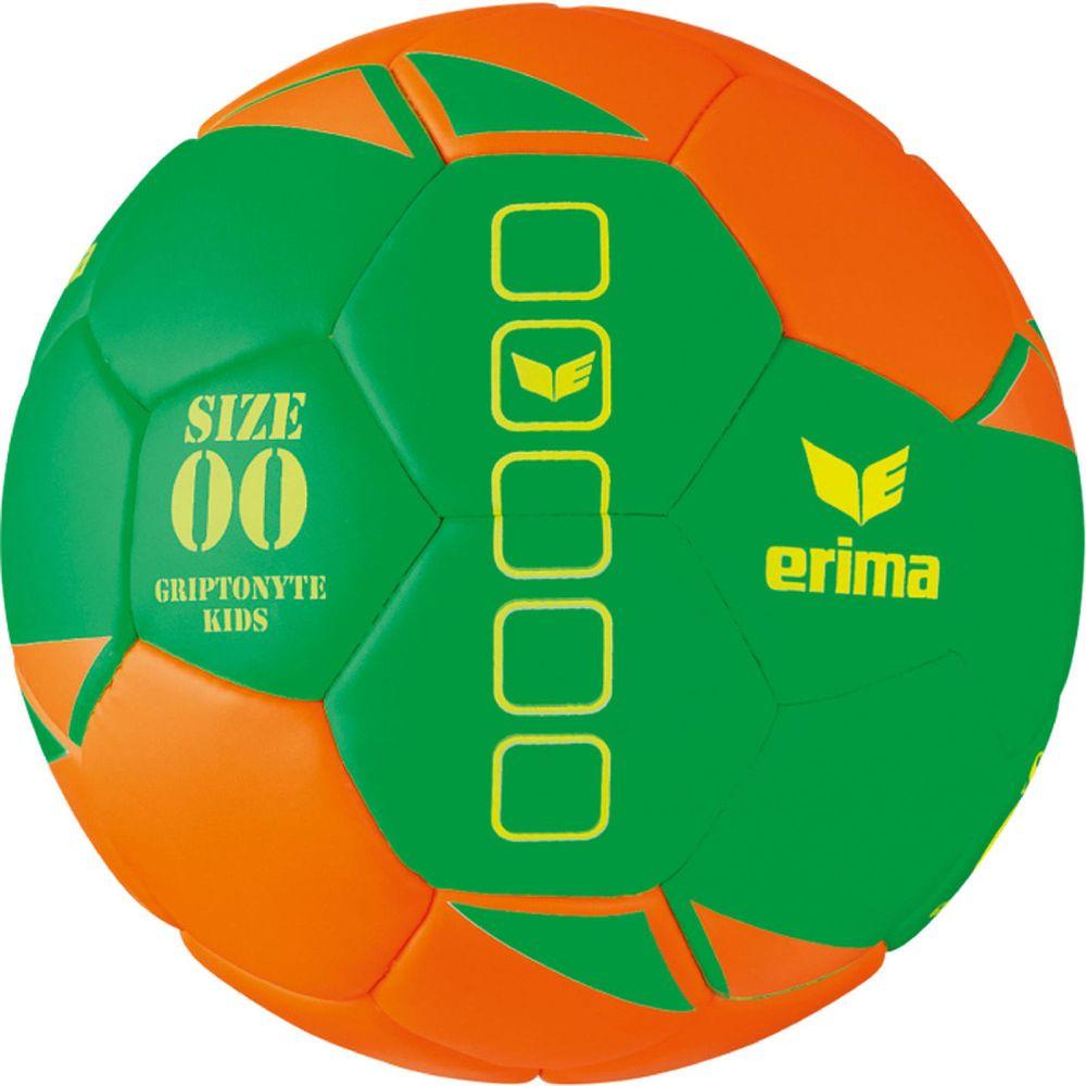 Erima Griptonyte Kids Lite - green/orange - Bälle (Pucks, Kugeln)-Unisex
