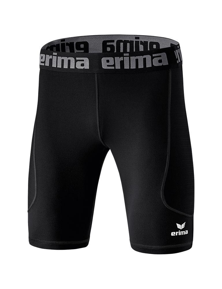 Erima Elemental Tight Short - black - Unterhosen-Kinder