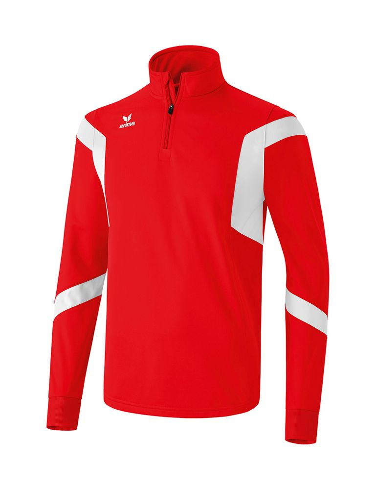 Erima Classic Team Training Top - red/white - Sweatshirts-Kinder