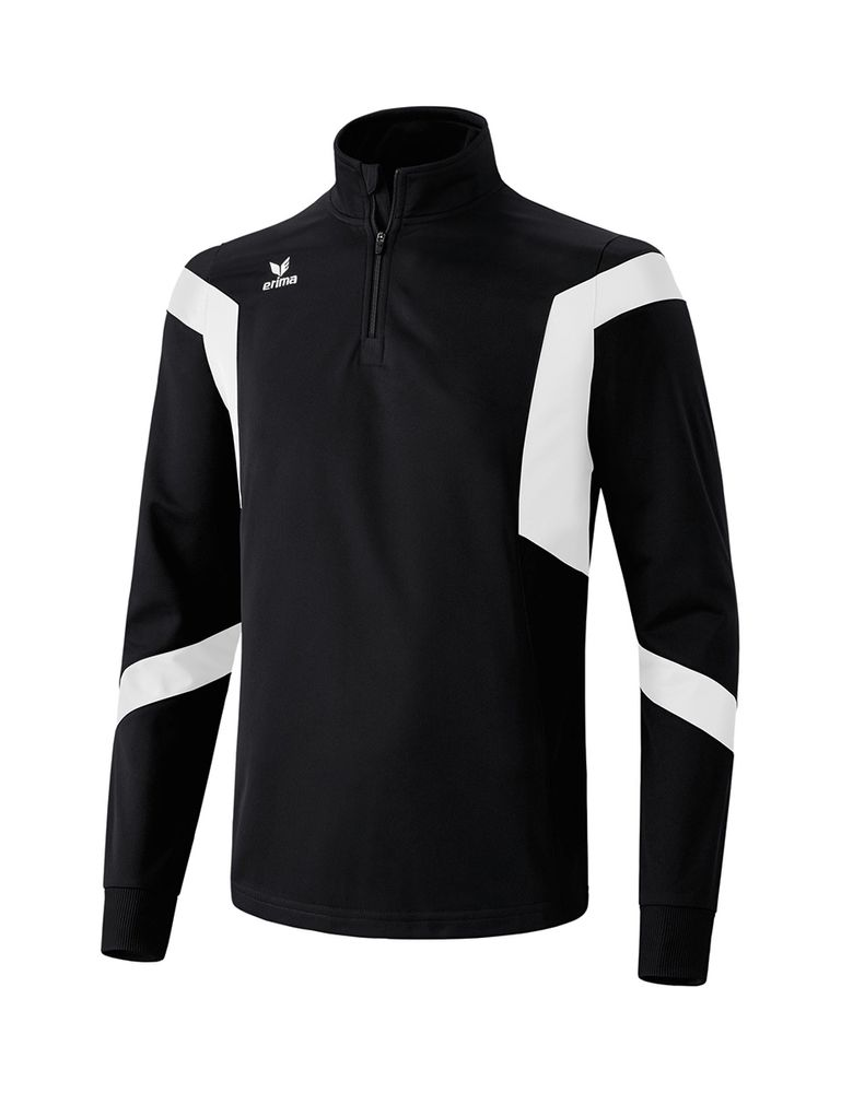 Erima Classic Team Training Top - black/white - Sweatshirts-Kinder