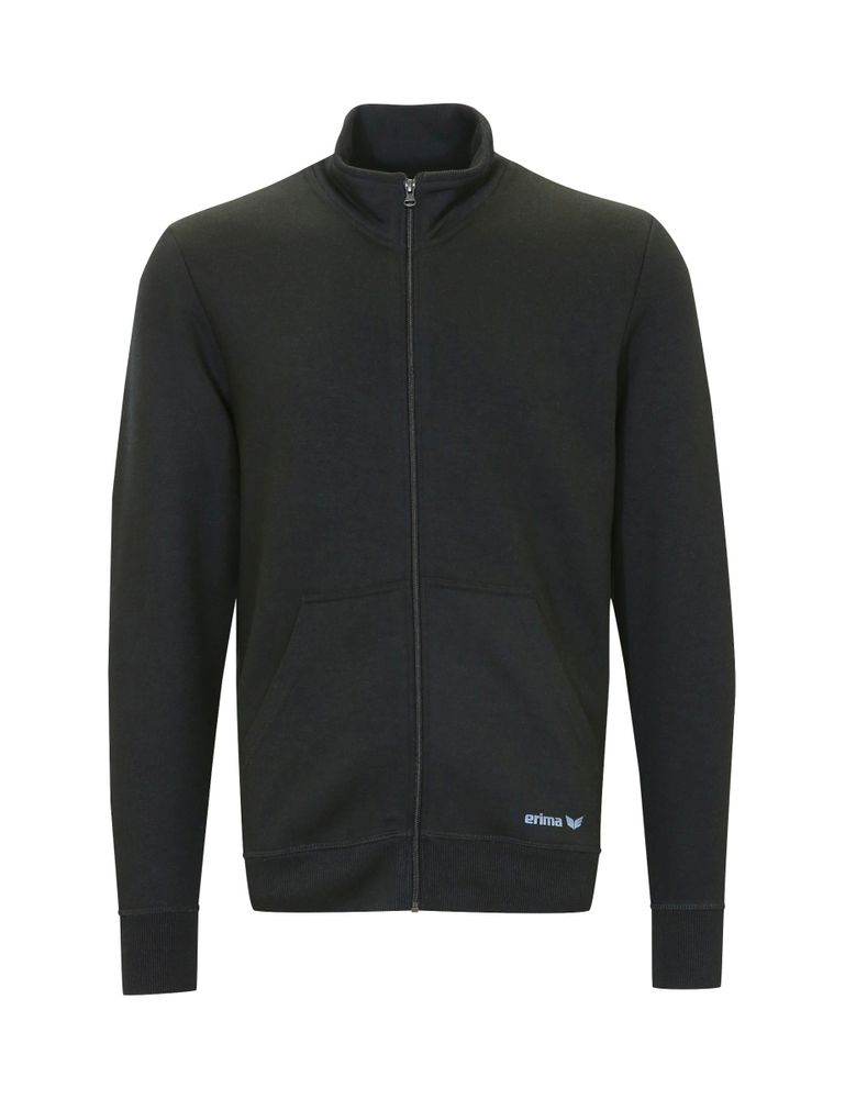 Erima Green Basics Sweat Jacket - black - Unterjacken-Herren