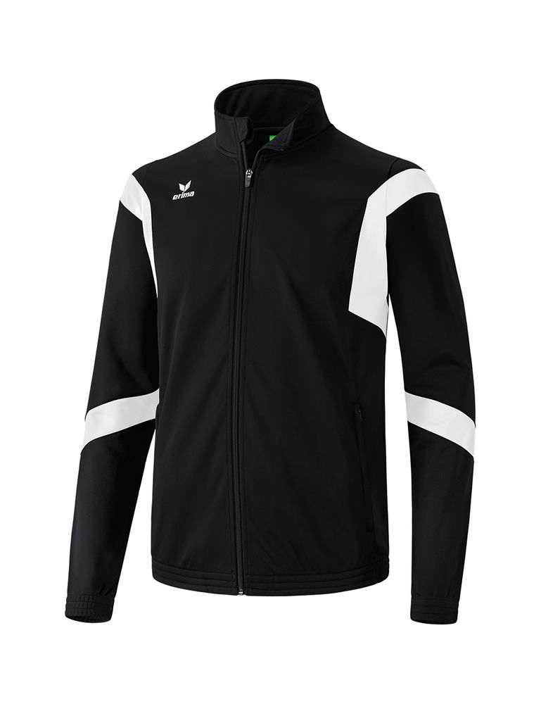 Erima Classic Team Training Jacket - black/white - Kapuzensweats-Herren