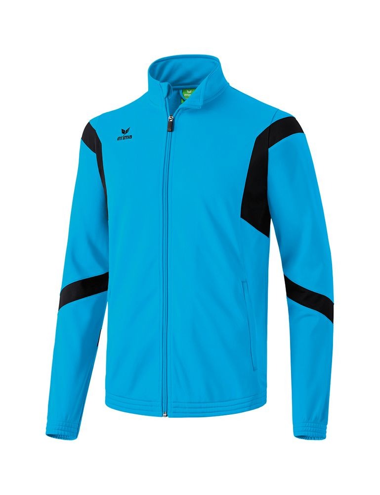 Erima Classic Team Training Jacket - curacao/black - Kapuzensweats-Herren