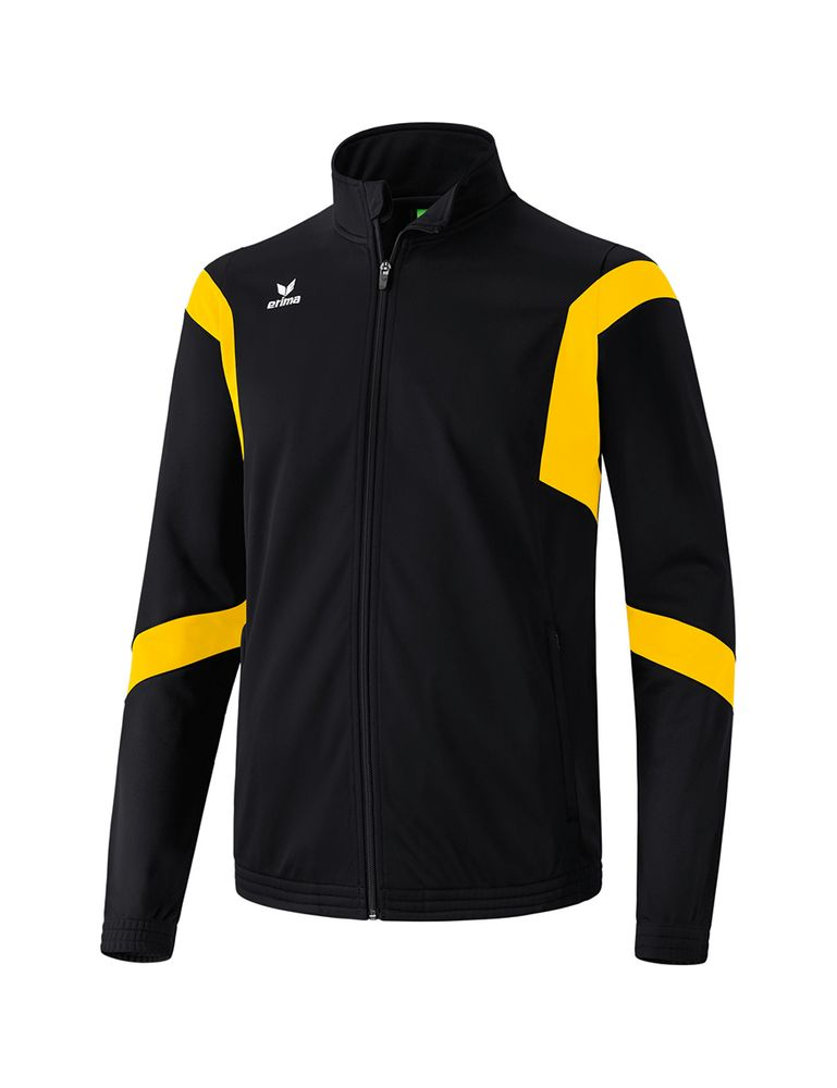 Erima Classic Team Training Jacket - black/yellow - Kapuzensweats-Kinder