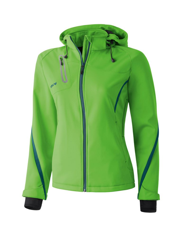 Erima Softshell Jacket Function - apple green/pine - Funktionsjacken-Damen