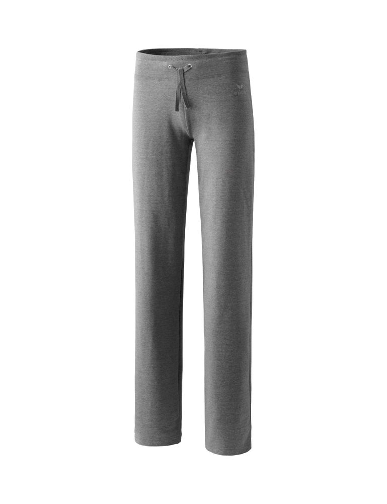 Erima Basic Women Sweatpant Long Sizes - grey-melange - Sporthosen lang-Damen