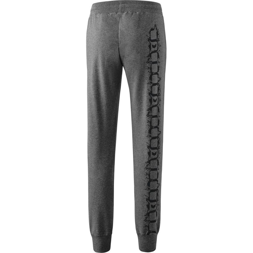 Erima Graffic 5-C Sweatpants With Cuff - grey-melange - Sporthosen lang-Damen