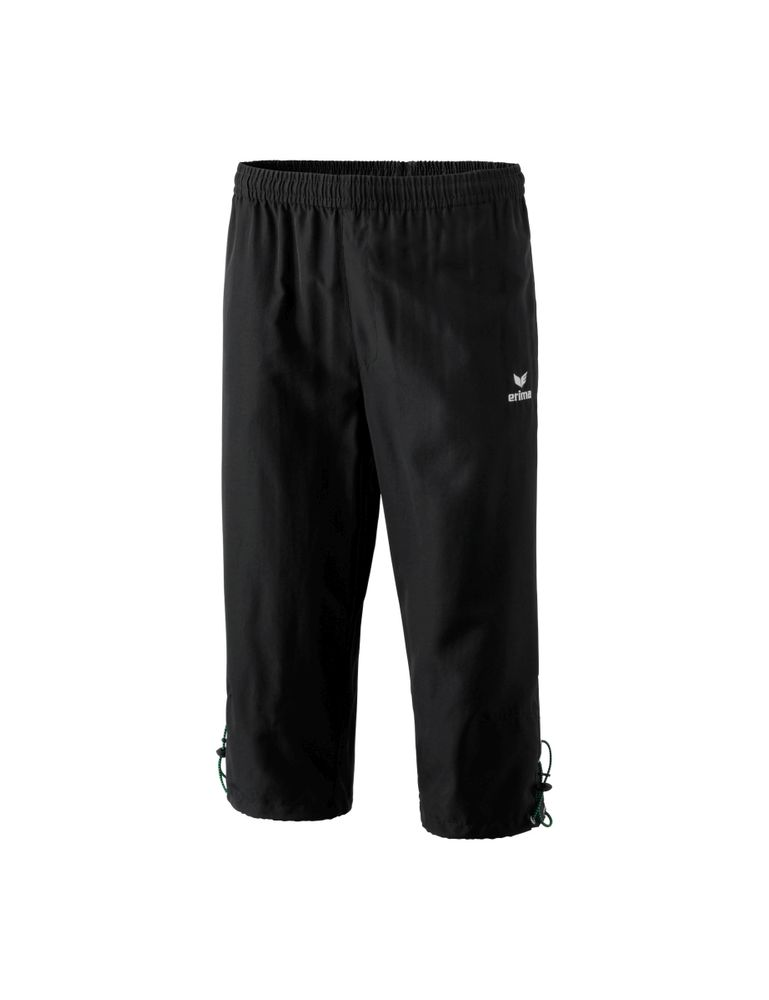 Erima Basic 3/4 Pant Men - black - Hosen 3/4 bis 7/8-Kinder