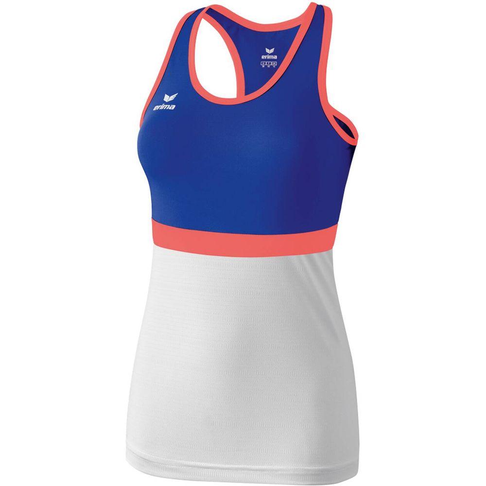 Erima Masters Tanktop - mazarine blue/white - T-Shirts-Tanks-Damen