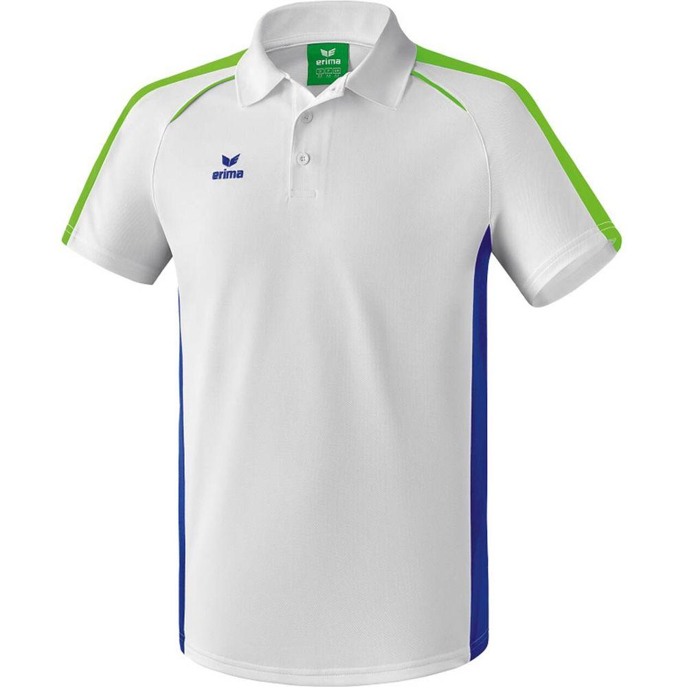 Erima Masters Polo Shirt - white/mazarine blue - Polos-Herren