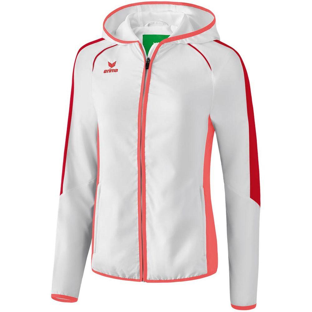 Erima Masters Pres. Jacket - white/hot coral - Jacken-Anoraks-Damen