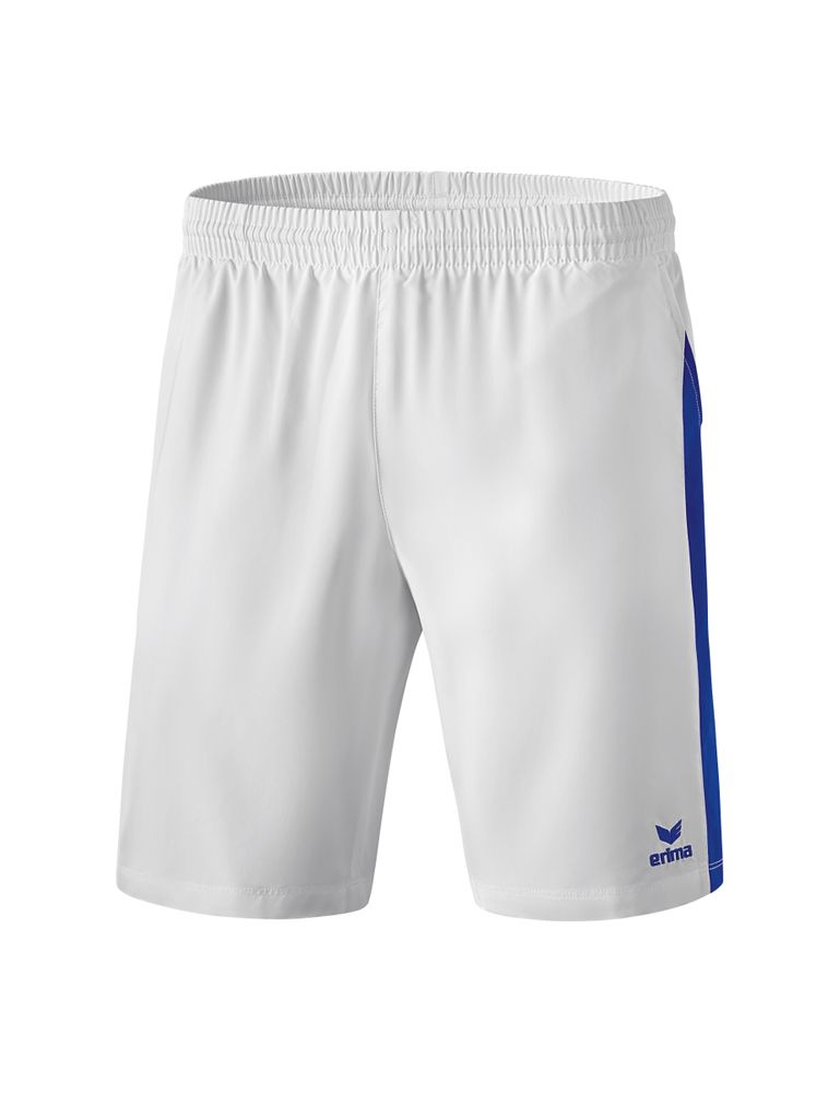 Erima Masters Shorts With Inner Slip - white/mazarine blue - Shorts-Kinder