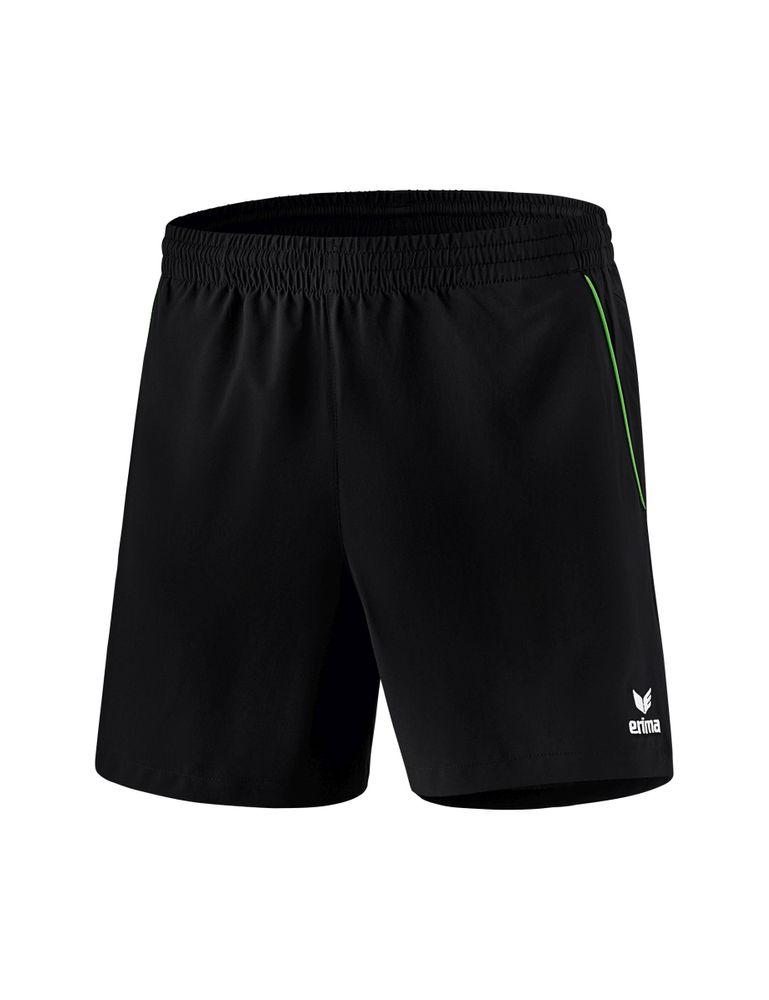 Erima Ping-Pong Shorts - black/green - Shorts-Herren