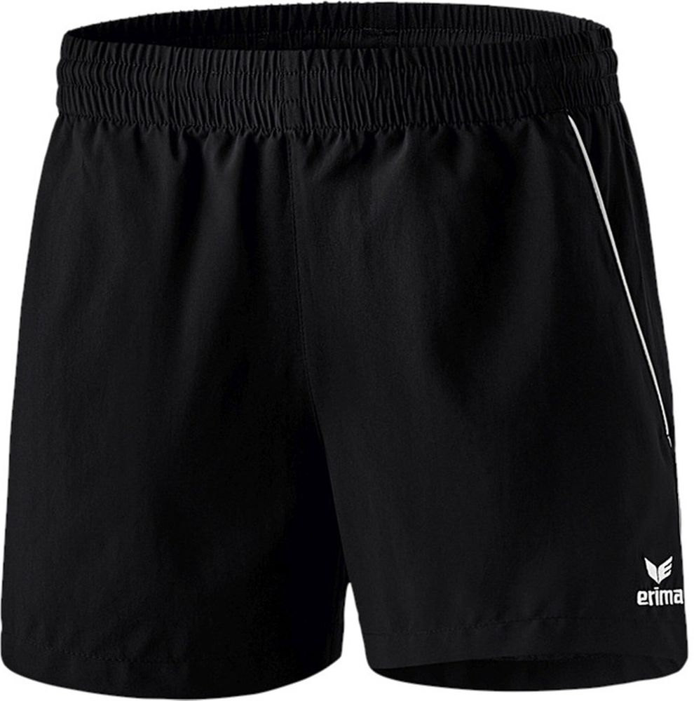 Erima Ping-Pong Shorts - black/white - Shorts-Damen