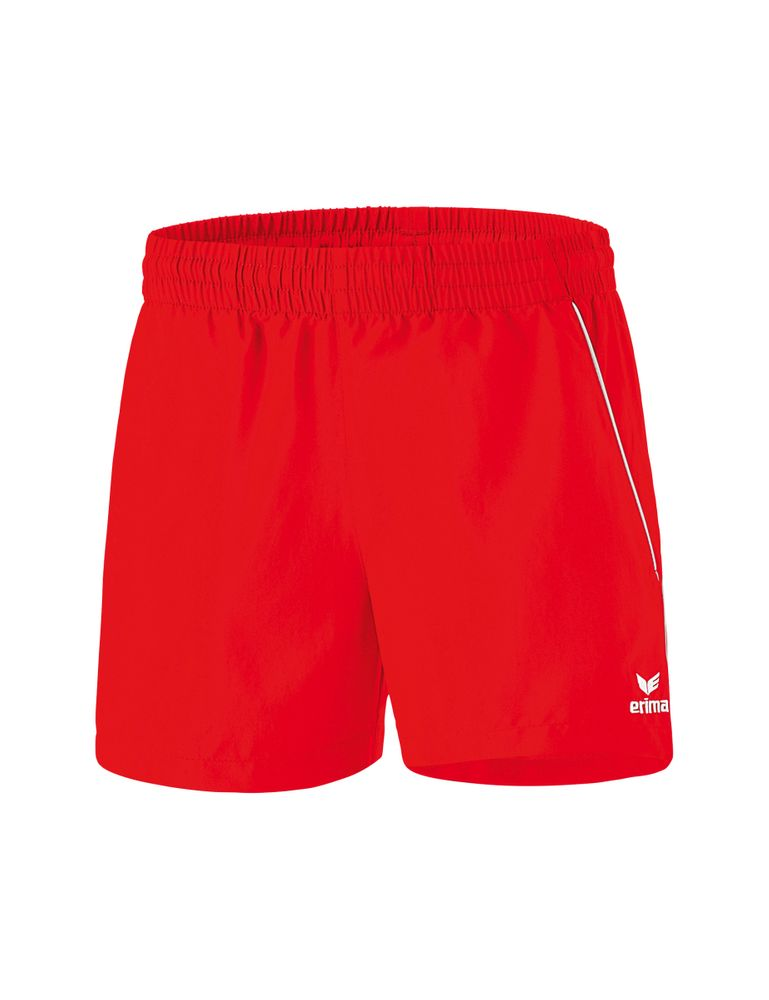 Erima Ping-Pong Shorts - red/white - Shorts-Damen