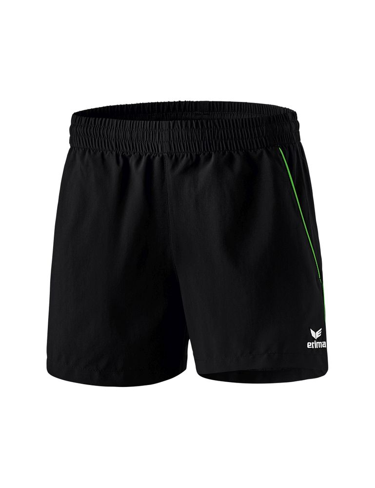 Erima Ping-Pong Shorts - black/green - Shorts-Damen