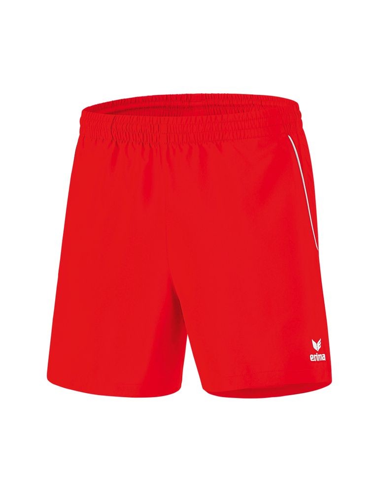 Erima Ping-Pong Shorts - red/white - Shorts-Kinder