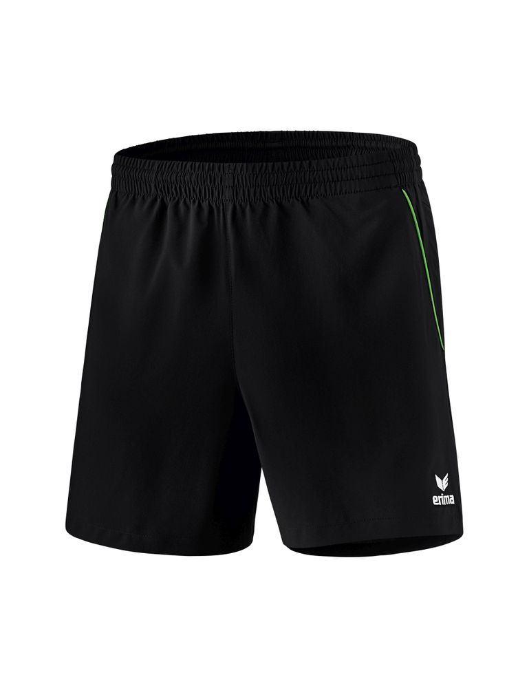 Erima Ping-Pong Shorts - black/green - Shorts-Kinder