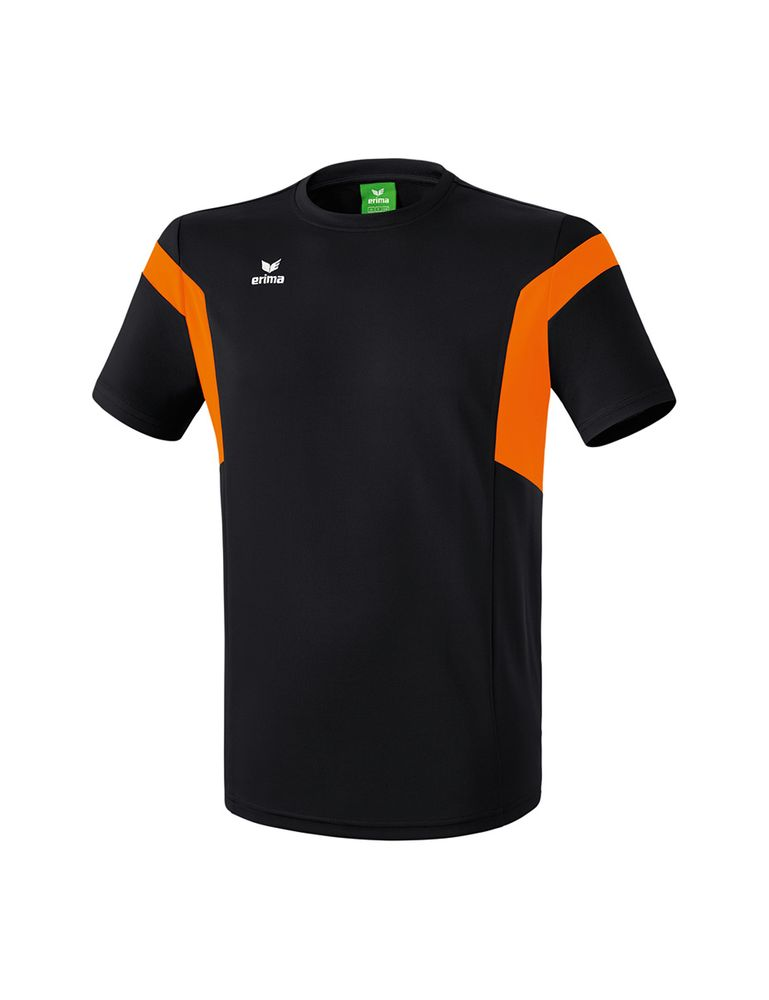 Erima Classic Team T-Shirt - black/orange - T-Shirts-Tanks-Kinder