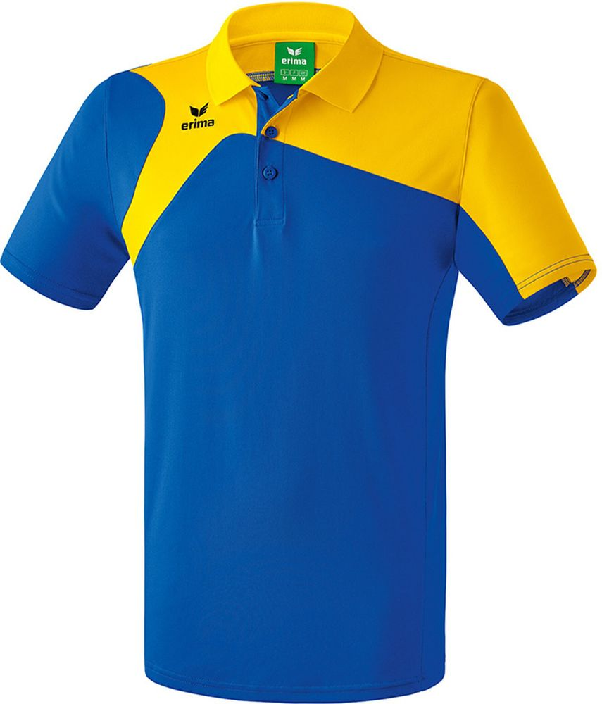 Erima Club 1900 2.0 Polo Shirt - new royal/yellow - Polos-Kinder