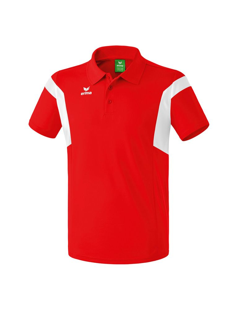 Erima Classic Team Polo Shirt - red/white - Polos-Kinder