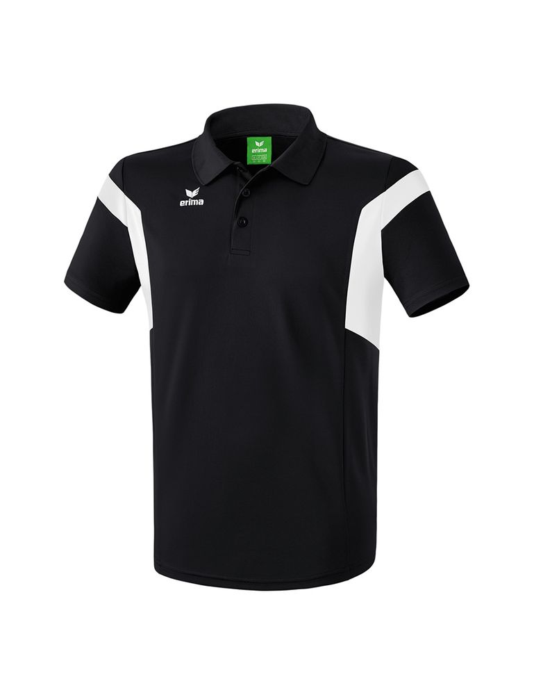 Erima Classic Team Polo Shirt - black/white - Polos-Kinder